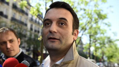 Le vice-président du FN Florian Philippot