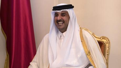 Cheikh du Qatar Tamim ben Hamad Al Thani