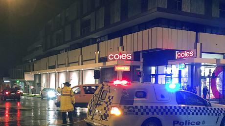 Le lieu de la prise d'otages à Melbourne
