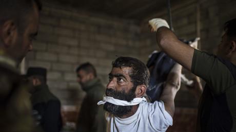 Scène de torture à Mossoul