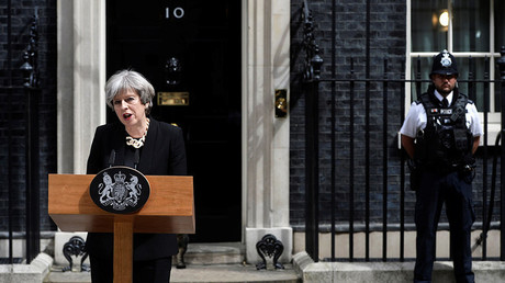 Le Premier ministre britannique Theresa May