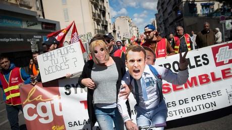 Manifestation du 1er mai à Marseille