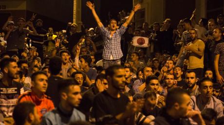 Des manifestants à Al-Hoceïma
