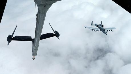 Un avion de combat américain, le Fairchild A-10 Thunderbolt II (photo d'illustration)