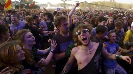 200 000 personnes ont assisté à l'édition 2015 du festival de Woodstock à Kostrzyn-sur-Odra en Pologne