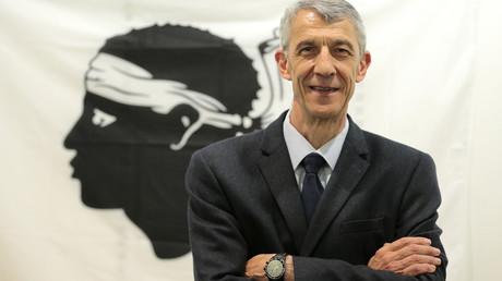 Michel Castellani, candidat du parti nationaliste Pé à Corsica