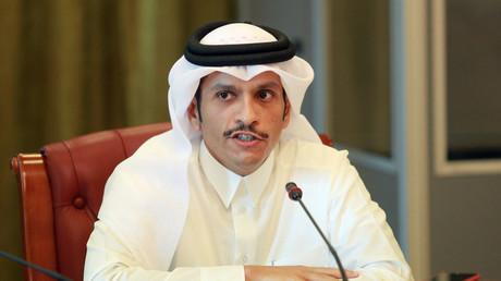 Le ministre qatari des Affaires étrangères, Mohammed ben Abderrahmane Al Thani