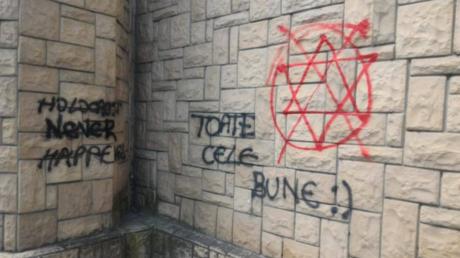 Des tags antisémites découverts sur les murs d'une synagogue historique en Roumanie