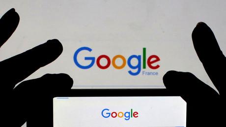 Le logo de Google France