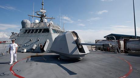 Un navire de guerre américain (archive)
