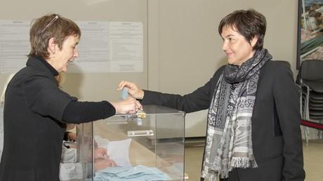 La ministre de l'Outre-Mer Annick Girardin (PRG) sera l'une des femmes siégeant à l'Assemblée