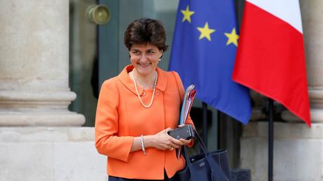 Sylvie Goulard, ministre des Armées démissionnaire