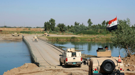 L'armée irakienne dans les environs de Mossoul (archive)