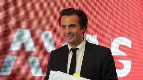 Yannick Bolloré, le président du groupe Havas