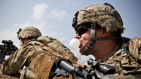 Un soldat américain dans la province de Kandahar, en février 2013 (image d'illustration)