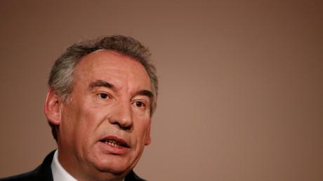 François Bayrou, ministre de la Justice démissionnaire