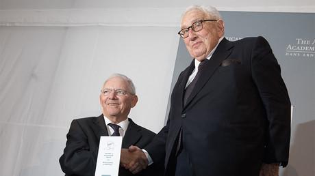 Wolfgang Schaüble, ministre des Finances allemand : c'est à l'Europe de défendre l'«ordre mondial»