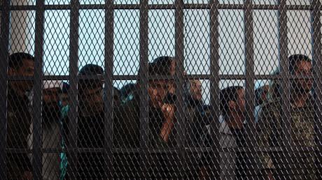 Des prisonniers yémenites soupçonnés d'avoir des liens avec Al-Qaïda