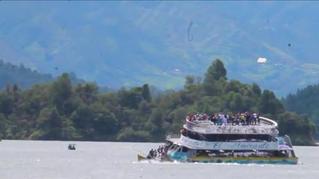 Colombie : au moins six morts et 31 disparus dans un naufrage