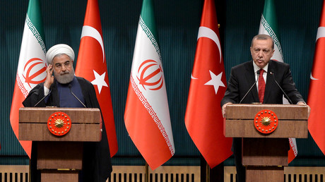 Hassan Rohani et Recep Tayyip Erdogan (image d'illustration)