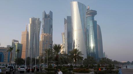 Vue sur la capitale du Qatar Doha