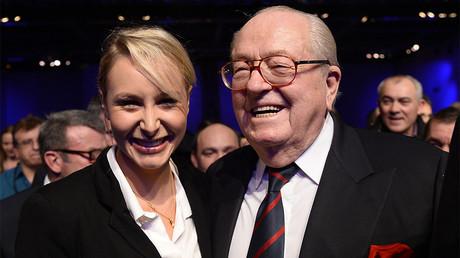 Marion Maréchal-Le Pen en retrait : «Où ça ? Dans le Bois de Boulogne ?», lance Jean-Marie Le Pen