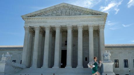 Le bâtiment abritant la Cour suprême des Etats-Unis