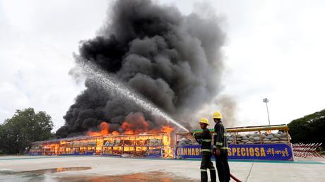 La Thaïlande et la Birmanie brûlent pour 900 millions d'euros de drogues confisquées