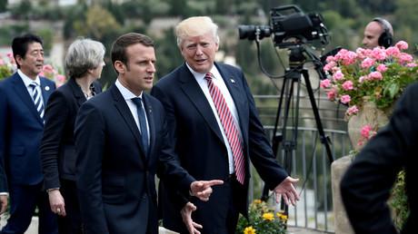 Emmanuel Macron et Donald Trump prêt à attaquer la Syrie ensemble ?