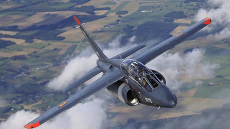 Alpha Jet de l'armée belge (image d'illustration)