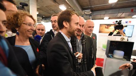 Emmanuel Macron et Muriel Pénicaud à la French Tech en 2016
