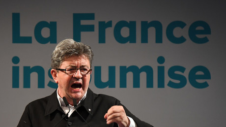 Jean-Luc Mélenchon, député France insoumise des Bouches-du-Rhône