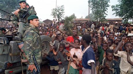 Soldats français au Rwanda