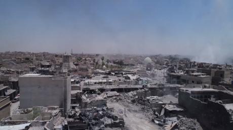Mossoul réduit à un champ de ruines : des images de désolation filmées par un drone