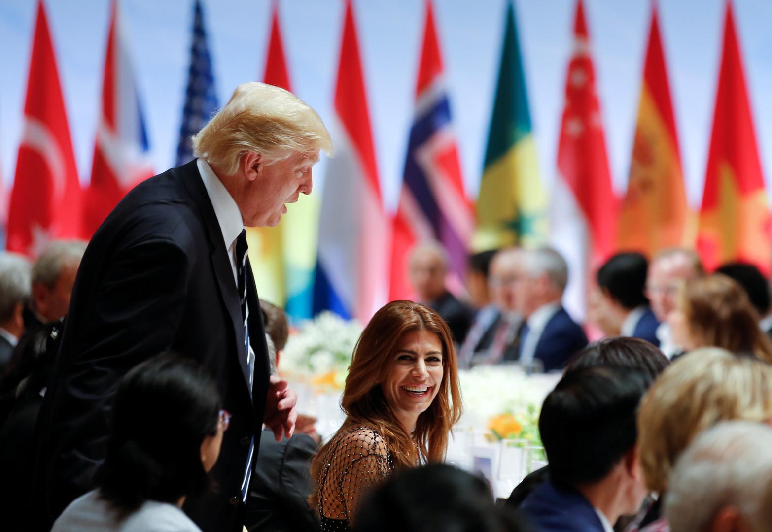 Les images du dîner du G20 laissent voir qui est assis à côté de Trump, Merkel ou Poutine