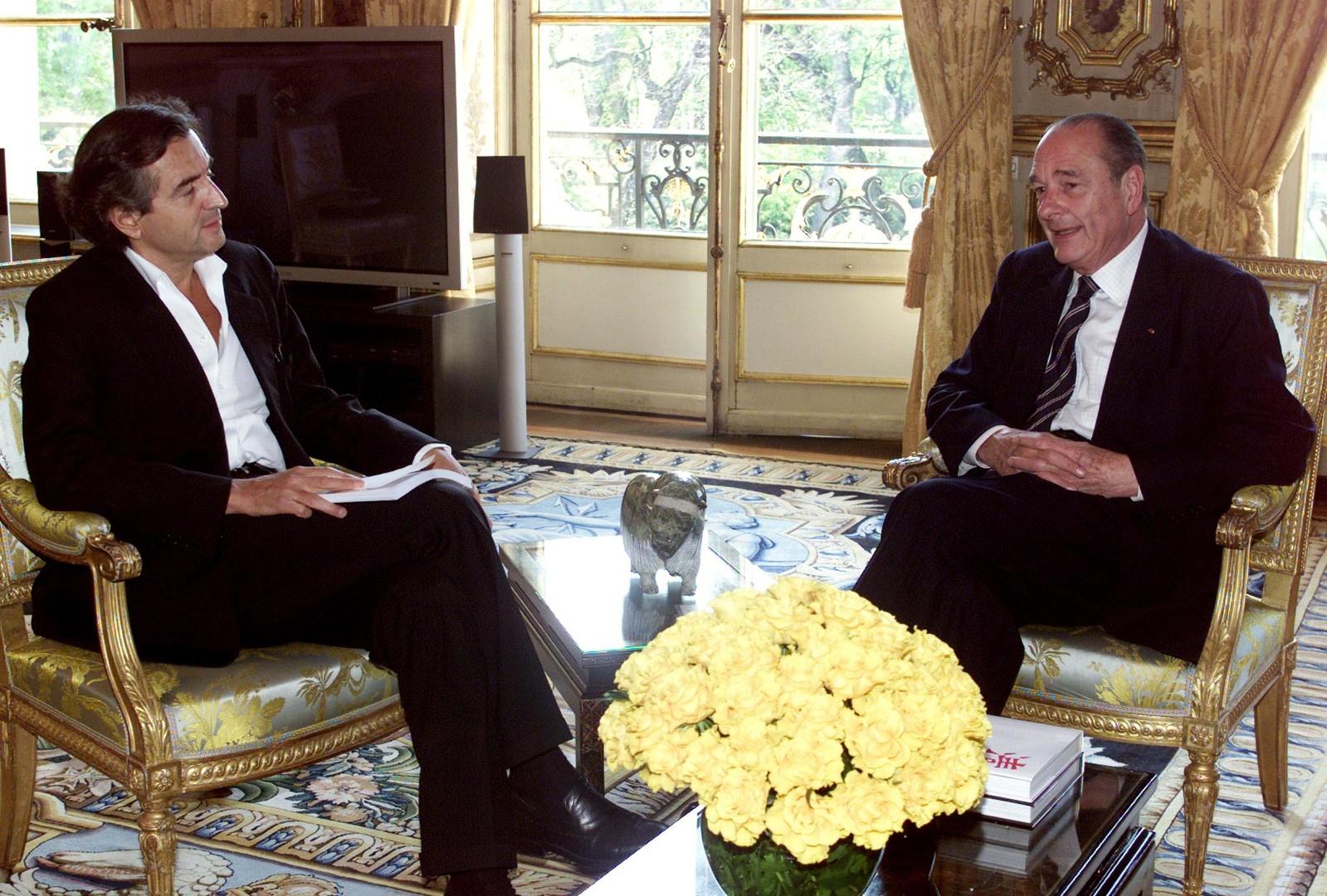 Bernard-Henri Lévy, interlocuteur incontournable des présidents français ?