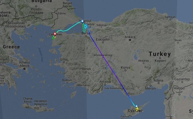 Un orage d'une rare violence a touché l'aéroport d'Istanbul endommageant plusieurs avions