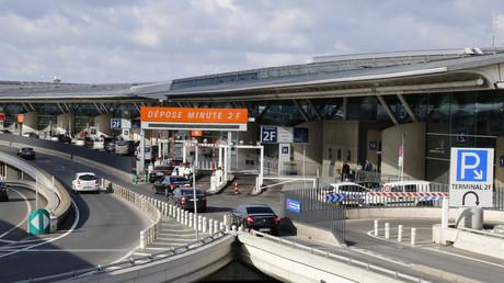Le terminal 2F de l'aéroport de Roissy