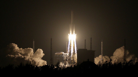 Echec du lancement de la fusée chinoise Longue Marche-5 à cause d'une «anomalie» (VIDEO)