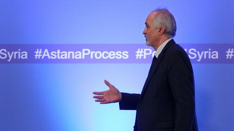 Ouverture d'une session de pourparlers sur la Syrie à Astana