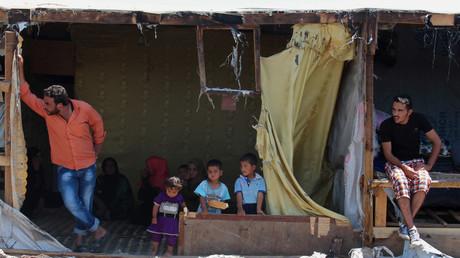 Liban : nouvel incendie dans un camp de réfugiés syriens, un enfant tué (VIDEO)