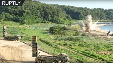 Capture d'écran d'une vidéo de Ruptly, l'agence vidéo de RT