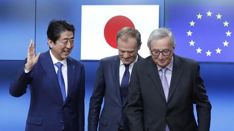 Après le TAFTA et le CETA, voici le JEFTA, négocié en toute discrétion par l'UE