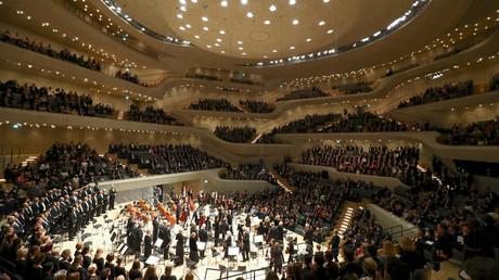 Le concert officiel offert par Angela Merkel en marge du sommet G20