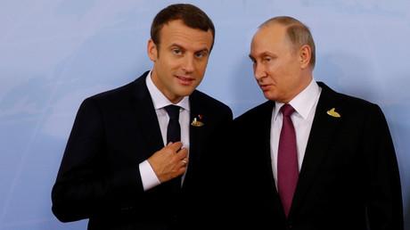 Au G20, Poutine et Macron se félicitent des «avancées» réalisées entre Paris et Moscou (VIDEO)