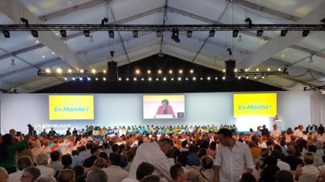 Convention de LREM le 8 juillet à Paris