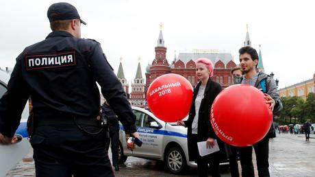 Manifestation de soutien à Alexeï Navalny