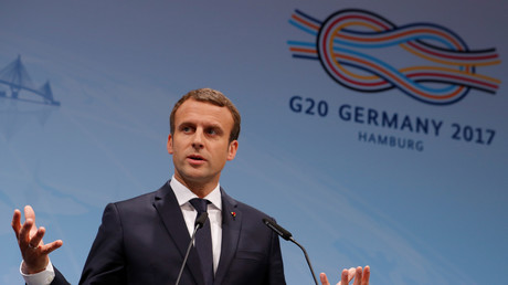 Emmanuel Macron au G20, le 8 juillet