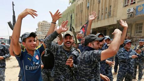 Policiers irakiens à Mossoul