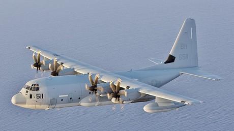 Un avion militaire KC-130J (image d'illustration)